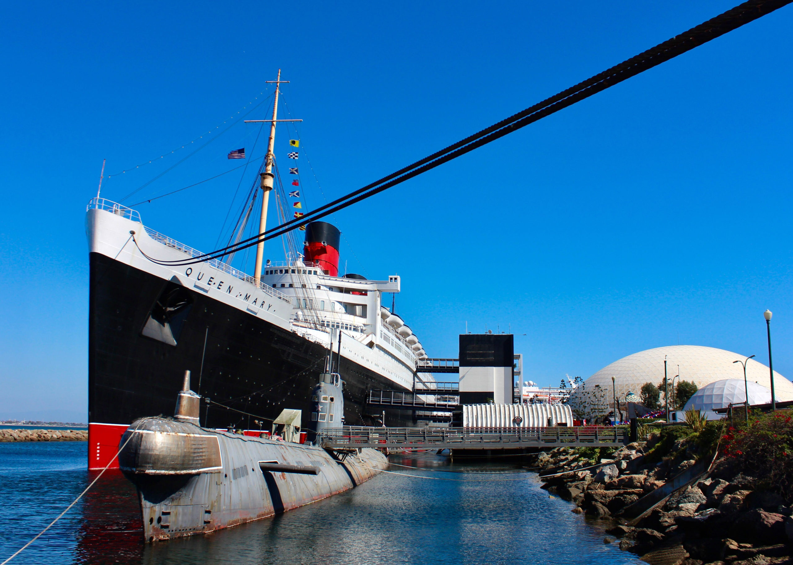 Queen Mary Operator Owes Cities
