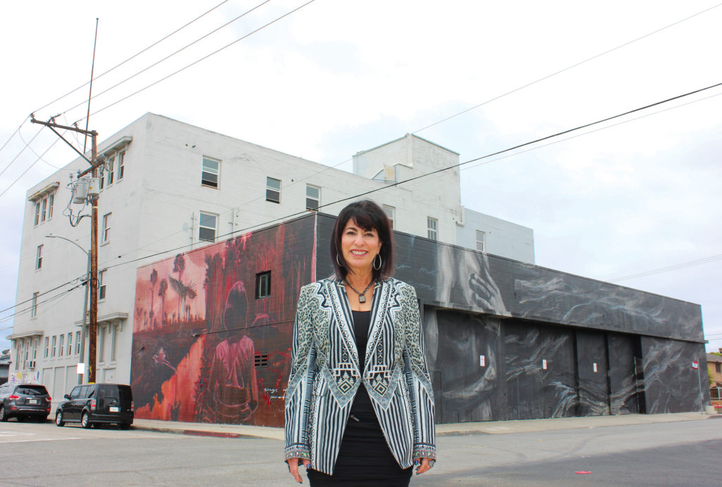 The Vault Warehouse owner Liz Carnes