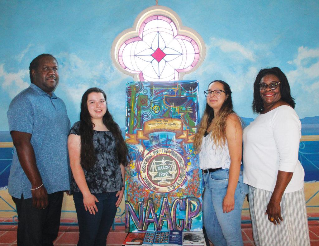 NAACP Long Beach Naomi Rainey and Antonio Gaskin