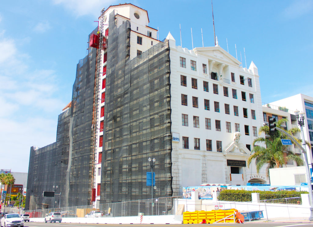 Ocean Center Construction