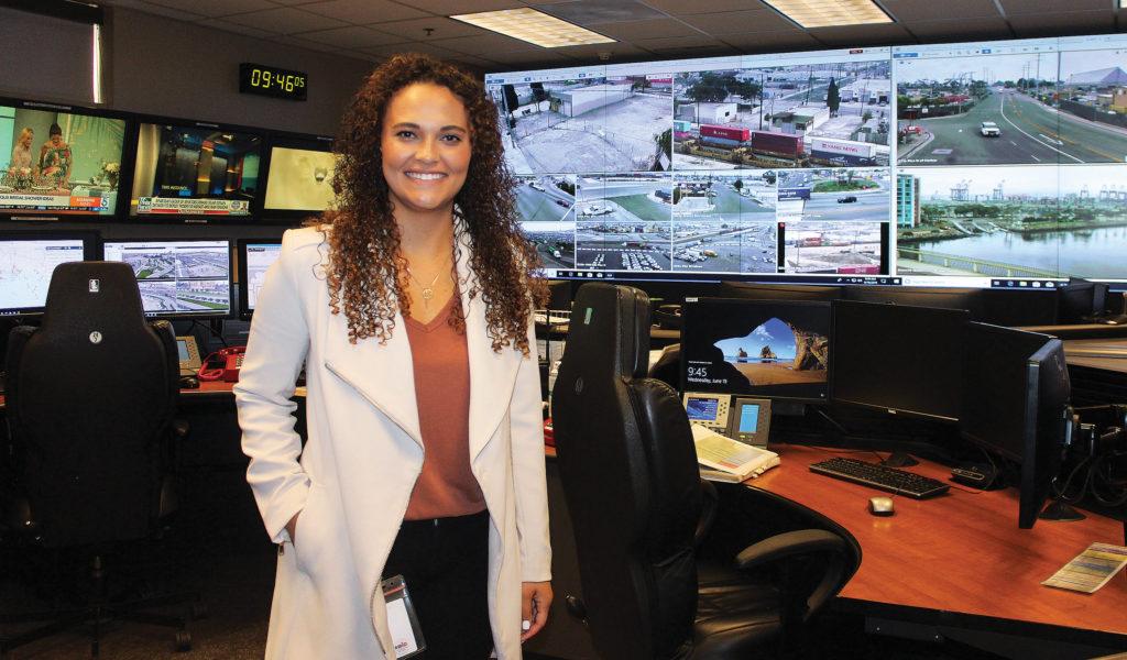 Port of Long Beach Administrative Analyst Marcella Tutson