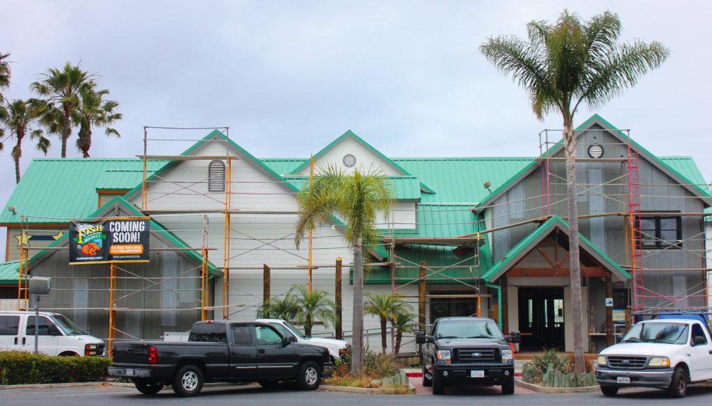 San Pedro Fish Market Los Alamitos Bay Construction Site