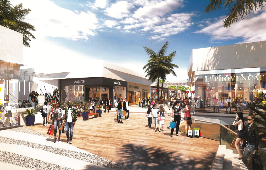 Carson Outlets Rendering