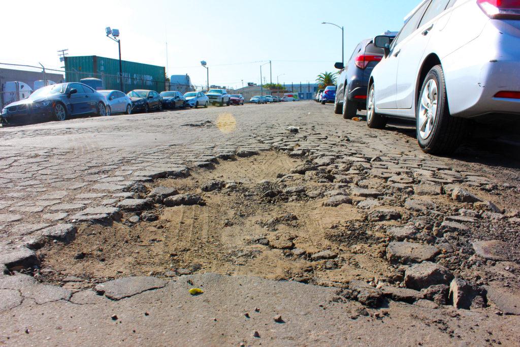 Westside Long Beach Potholes