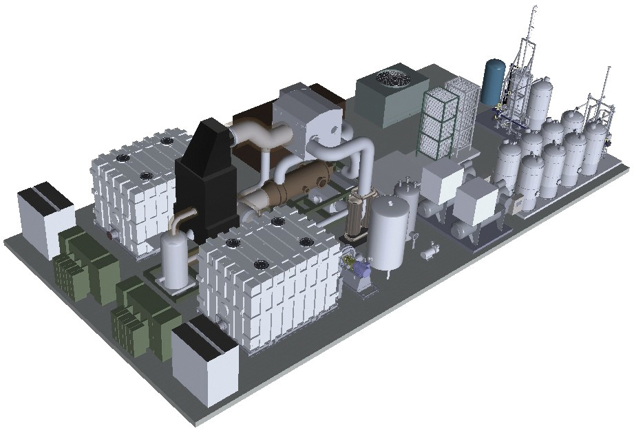 Toyota Hydrogen Fuel Cell Plant
