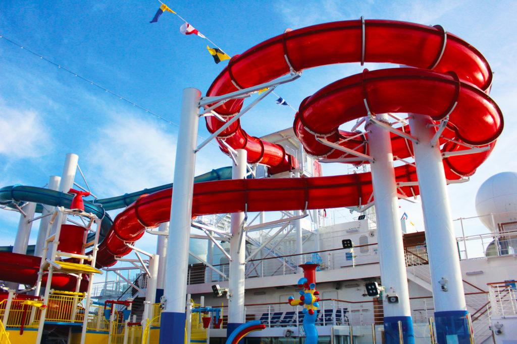Carnival Panorama water park