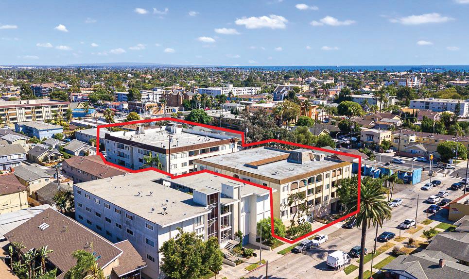 Multi-family apartment buildings at 425 Coronado