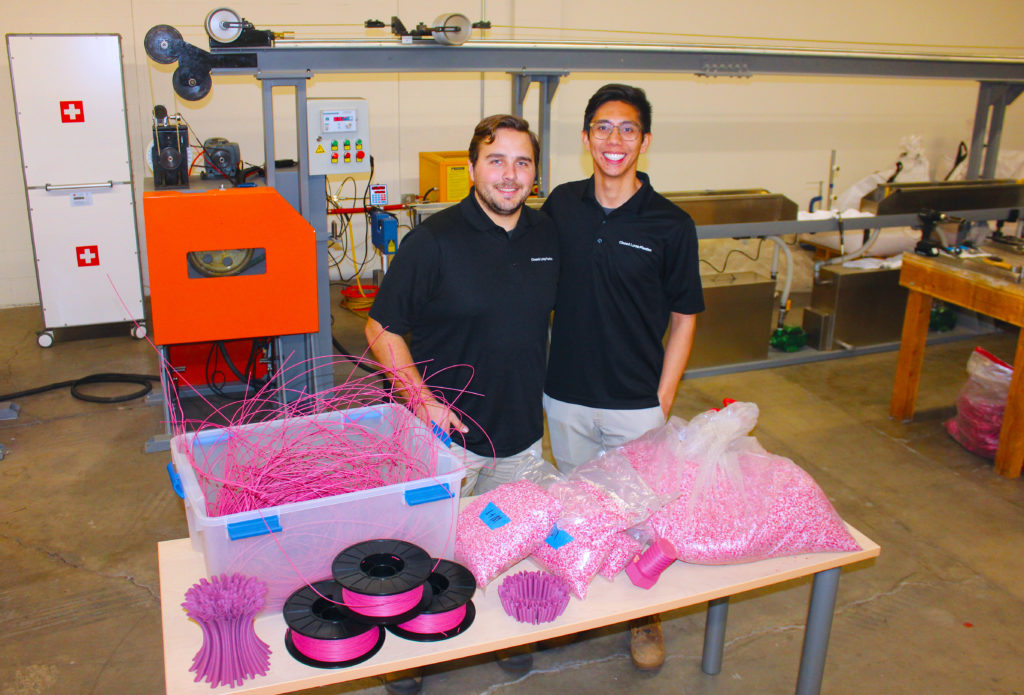 Closed Loop Plastics co-founders Will Amos and Aldrin Lupisan
