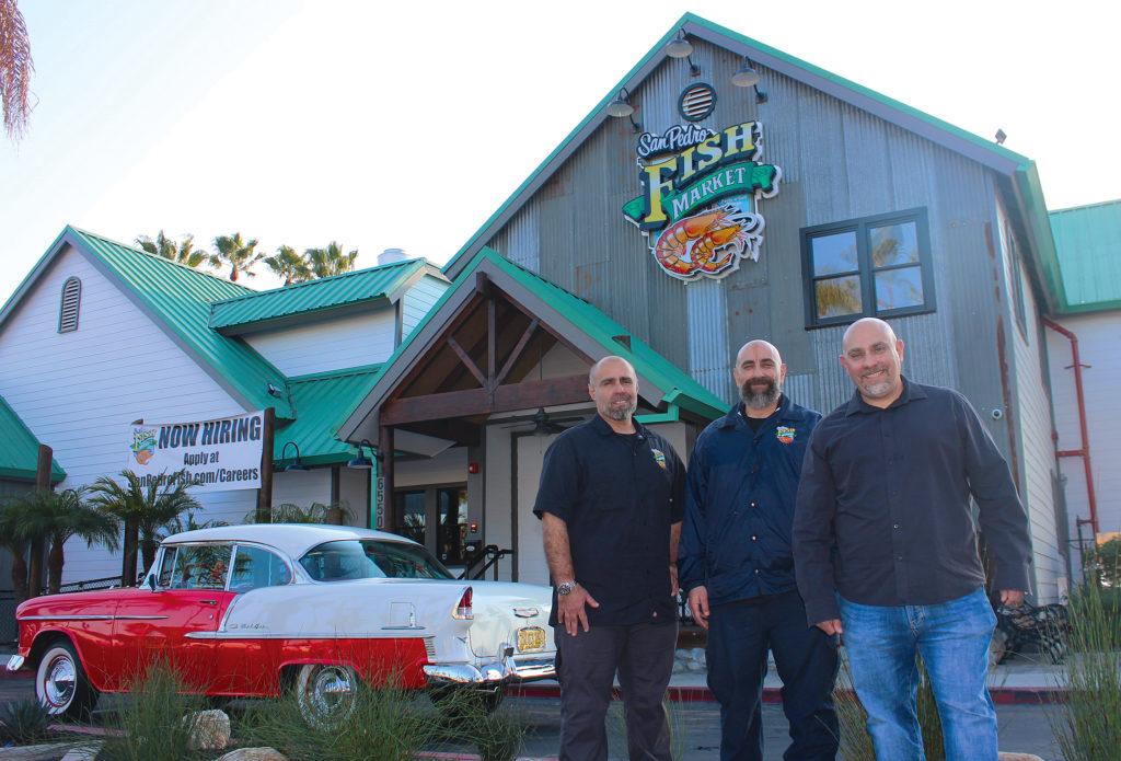 San Pedro Fish Market John Ungaro, Henry Ungaro, Michael Ungaro