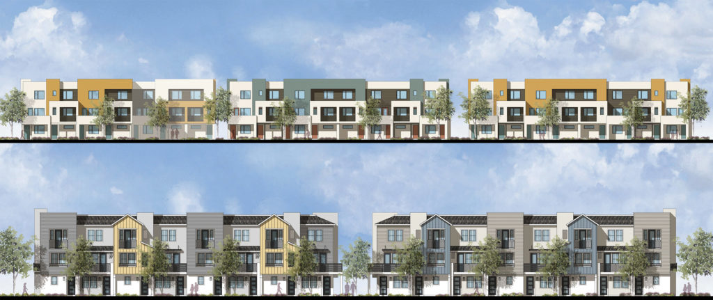 City Ventures townhomes in North Long Beach