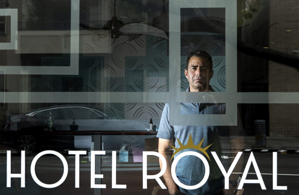 Victor Beauchamp, owner of the Hotel Royal in Downtown Long Beach