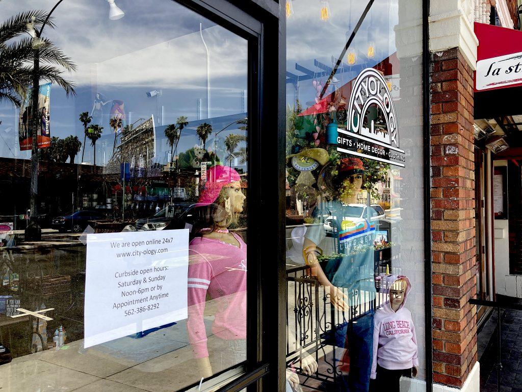 Cityology streetwear clothing retail store, 2nd Street, Belmont Shore